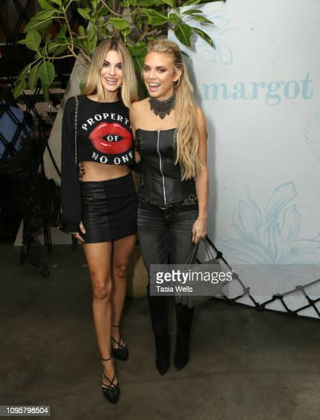 Rachel McCord and AnnaLynne McCord attend the Margot Los Angeles Rooftop Restaurant Opening at Platform at on January 17 2019 in Culver City...