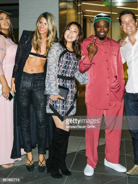 Rachel McCord and Eddie Griffin are seen on June 02 2017 in Los Angeles California
