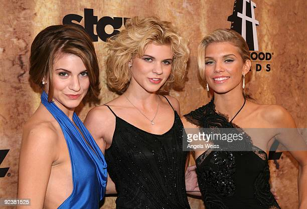 Rachel McCord Angel McCord and actress AnnaLynne McCord arrive at the Starz Entertainment After Party for the 13th Annual Hollywod Film Festival at...