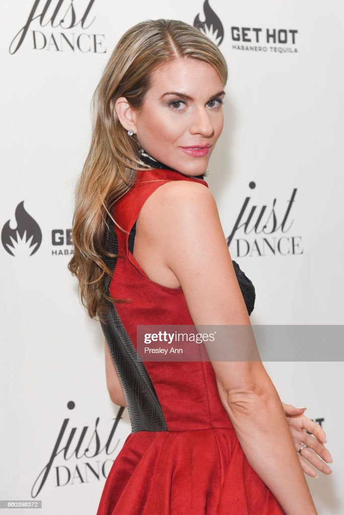Rachel McCord attends grand opening event for JustDance LA at Just Dance Los Angeles on October 11, 2017 in Studio City, California.