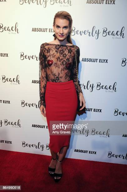 Rachel McCord attends the Dorit Kemsley Preview Event For Beverly Beach By Dorit at The Trunk Club on October 21 2017 in Culver City California