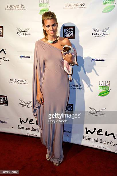 Rachel McCord attends the Putting For Pups Golf Tournament And Gala Brookside Golf Club on September 13 2015 in Pasadena California