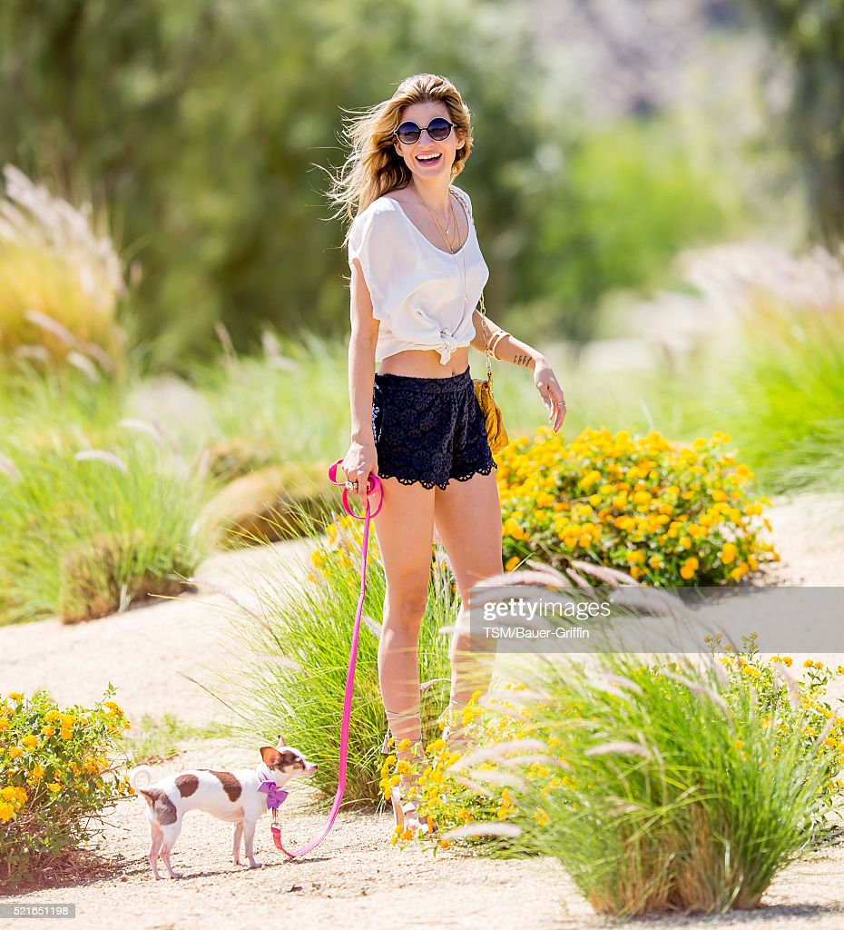 Rachel McCord is seen at The Coachella Valley Music and Arts Festival on April 16, 2016 in Los Angeles, California.