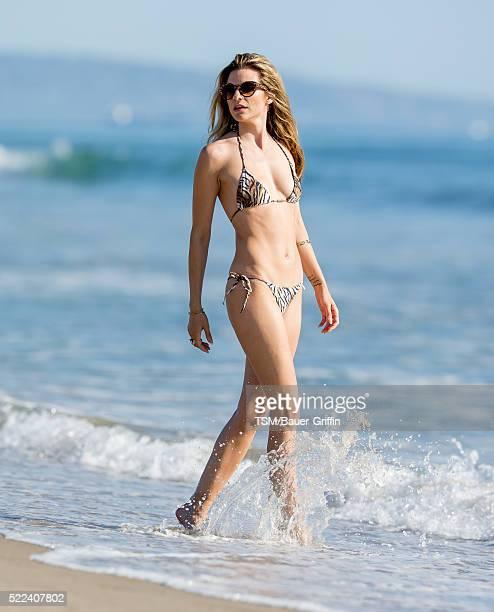 Rachel McCord is seen on April 18 2016 in Los Angeles California
