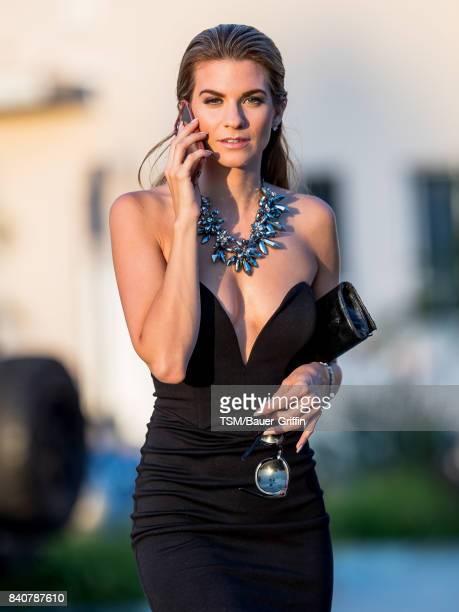 Rachel McCord is seen on August 29 2017 in Los Angeles California