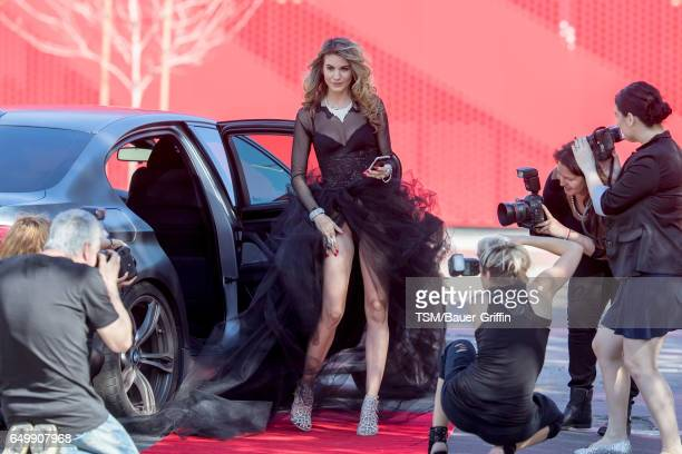 Rachel McCord is seen on March 08 2017 in Los Angeles California