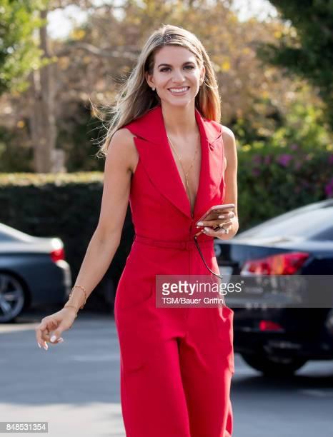 Rachel McCord is seen on September 17 2017 in Los Angeles California