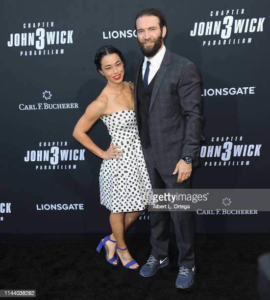 Rachel McDermott and Sam Hargrave arrive for the Special Screening Of Lionsgate's John Wick Chapter 3 Parabellum held at TCL Chinese Theatre on May...