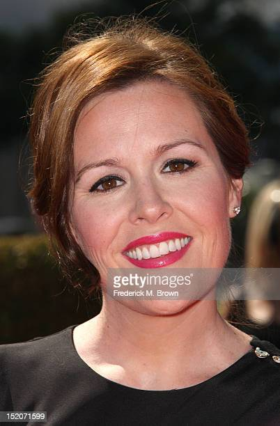 Rachel Mcfarland attends The Academy Of Television Arts & Sciences 2012 Creative Arts Emmy Awards at the Nokia Theatre L.A. Live on September 15,...
