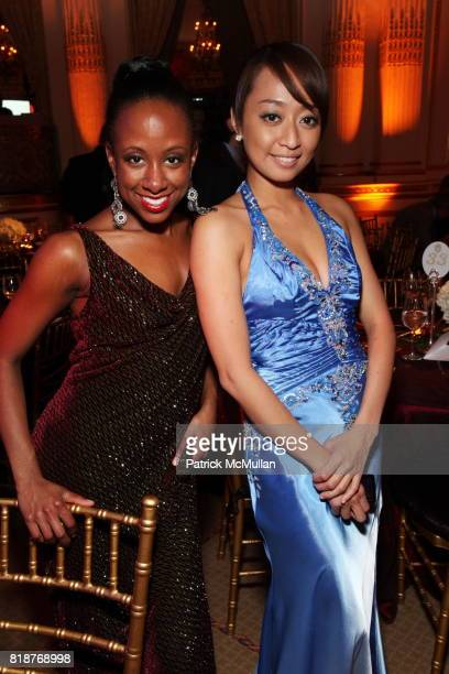 Rachel McSween and Kimberly Mintzuli attend BALLET HISPANICO'S 40th Anniversary Spring Gala at The Plaza on April 19 2010 in New York City