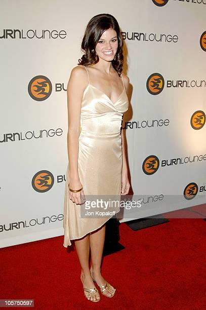 Rachel Melvin during Burn Lounge Launch Party Arrivals at Cabana Club in Hollywood California United States