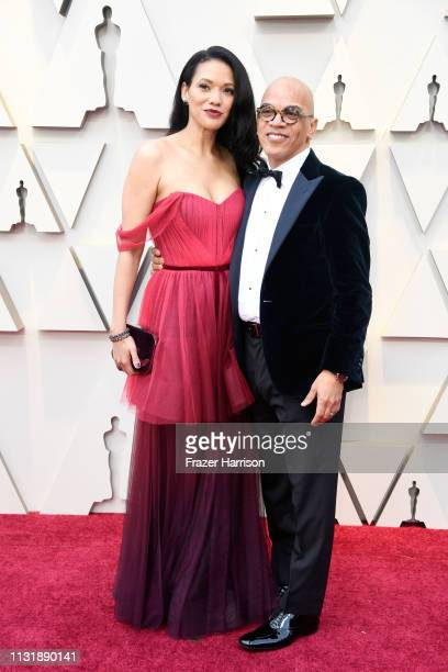 Rachel Minor and Rickey Minor attend the 91st Annual Academy Awards at Hollywood and Highland on February 24 2019 in Hollywood California