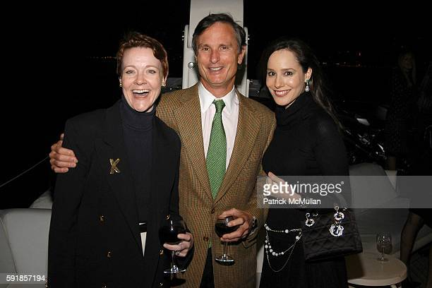 Rachel Moore David Ford and Pamela Fielder attend Junior Council of AMERICAN BALLET THEATRE Yacht Party at The Forbes Yacht The Highlander on October...
