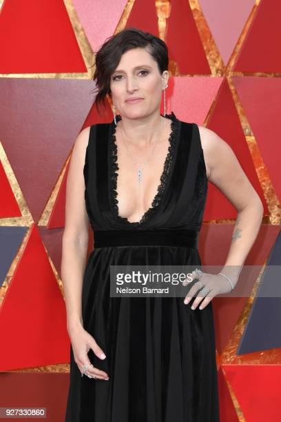 Rachel Morrison attends the 90th Annual Academy Awards at Hollywood Highland Center on March 4 2018 in Hollywood California