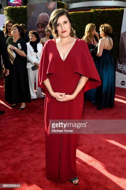 Rachel Morrison attends the American Film Institute's 46th Life Achievement Award Gala Tribute to George Clooney at Dolby Theatre on June 7 2018 in...