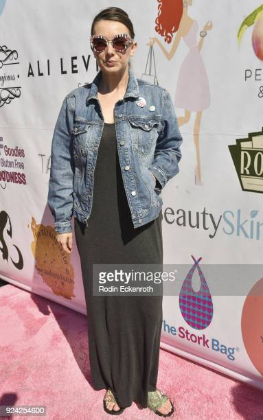 Rachel Mullens attends BRAVO'S Stripped TV Personality and Celebrity Fashion Stylist Expert Ali Levine's Pink Carpet Baby Shower at Rockwell Table...