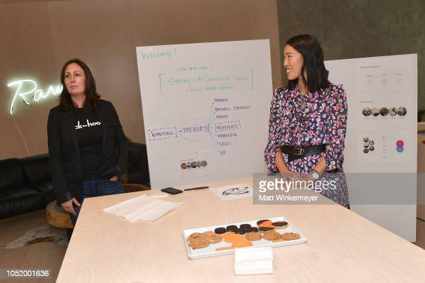 Rachel Newell and Michelle Lee speak at WIRED25 Work Inside San Francisco's Most Innovative Workplaces on October 12 2018 in San Francisco California