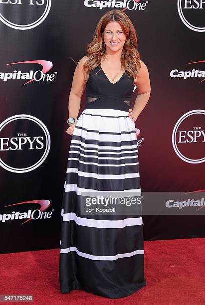 Rachel Nichols arrives at The 2016 ESPYS at Microsoft Theater on July 13 2016 in Los Angeles California