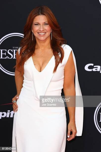 Rachel Nichols arrives at the 2017 ESPYS at Microsoft Theater on July 12 2017 in Los Angeles California