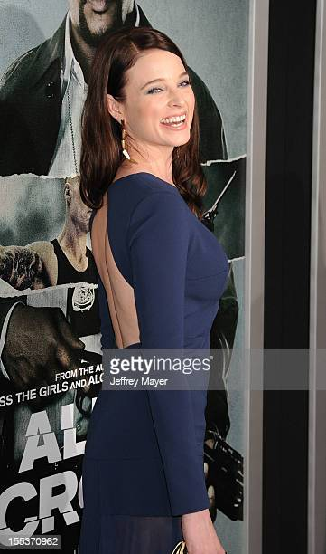 Rachel Nichols arrives at the Los Angeles premiere of 'Alex Cross' at the ArcLight Cinemas Cinerama Dome on October 15 2012 in Hollywood California