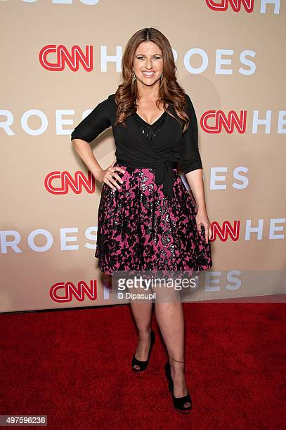 Rachel Nichols attends the 2015 CNN Heroes An AllStar Tribute at the American Museum of Natural History on November 17 2015 in New York City