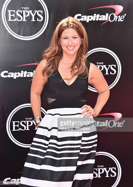 Rachel Nichols attends the 2016 ESPYS at Microsoft Theater on July 13 2016 in Los Angeles California