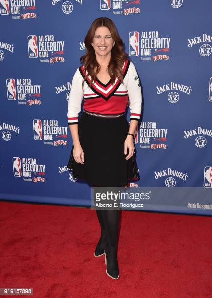 Rachel Nichols attends the NBA AllStar Celebrity Game 2018 at Verizon Up Arena at LACC on February 16 2018 in Los Angeles California