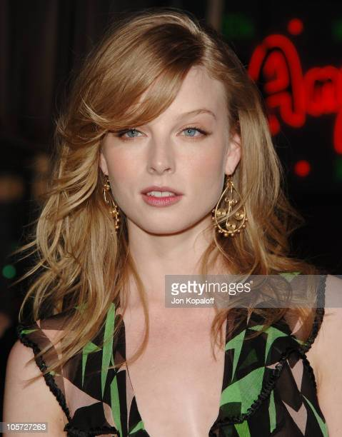 Rachel Nichols during The Amityville Horror World Premiere at Arclight Cinerama Dome in Hollywood California United States