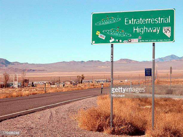 Rachel NV On The Extraterrestrial Highway Highway 375 Home Of Numerous UFO Sightings And Near Area 51
