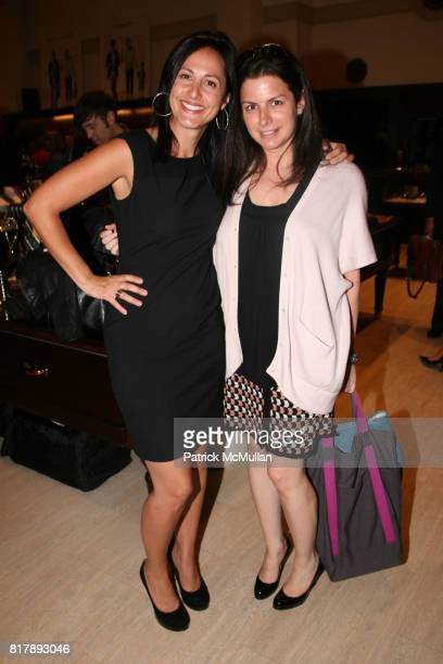 Rachel Pauley and Kim Harounian attend The launch of 'True Prep' at Brooks Brothers on September 14 2010 in New York