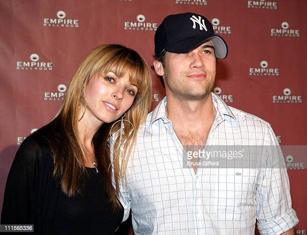 Rachel Perry and Nick Zano during Empire Ballroom Grand Opening Red Carpet at Empire Ballroom in Las Vegas Nevada United States