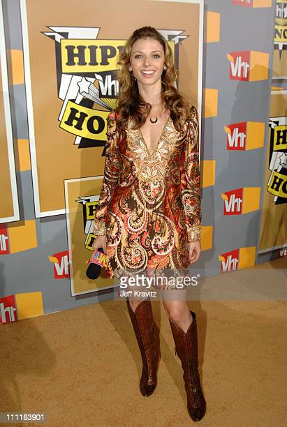 Rachel Perry during 2005 VH1 Hip Hop Honors Gold Carpet at Hammerstein Ballroom in New York City New York United States