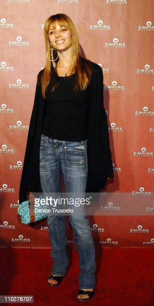Rachel Perry during Empire Ballroom Grand Opening Red Carpet Arrivals at Empire Ballroom in Las Vegas Nevada