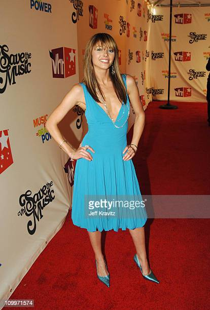 A Concert To Benefit The VH1 Save The Music Foundation Red Carpet at Beacon Theatre in New York City New York United States