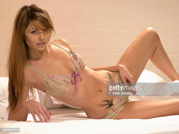 Rachel Perry is photographed for a calendar in 2005