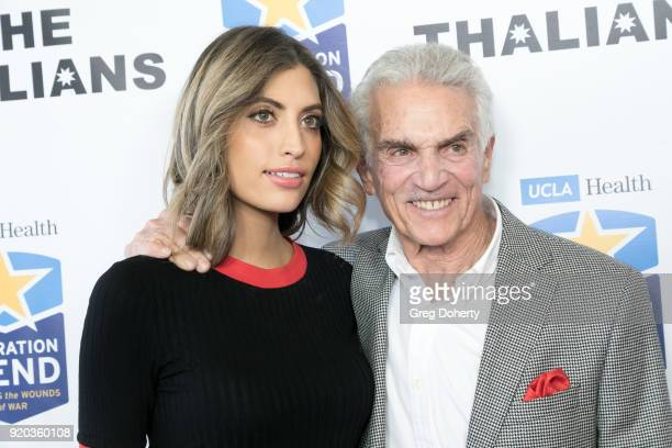 Rachel Pierce and Steve Taub attend The Thalians Hollywood for Mental Health Presidents Club Party at Dorothy Chandler Pavilion on February 18 2018...