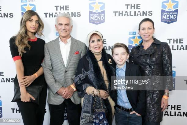 Rachel Pierce Steve Taub Stephanie J Hibler Ethan Jones and Joanne Jones attend The Thalians Hollywood for Mental Health Presidents Club Party at...