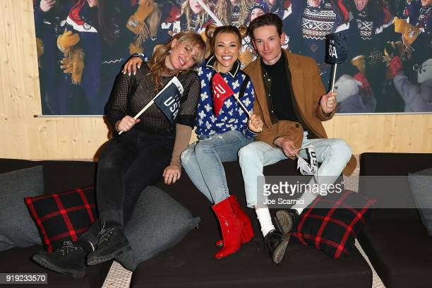 Rachel Platten and band pose for a photo at the USA House at the PyeongChang 2018 Winter Olympic Games on February 17 2018 in Pyeongchanggun South...