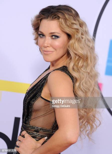 Rachel Platten arrives at the 2017 American Music Awards at Microsoft Theater on November 19 2017 in Los Angeles California