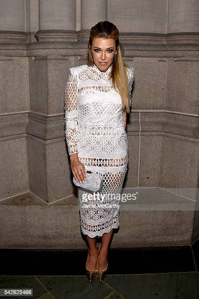 Rachel Platten attends 2016 Logo's Trailblazer Honors at Cathedral of St John the Divine on June 23 2016 in New York City