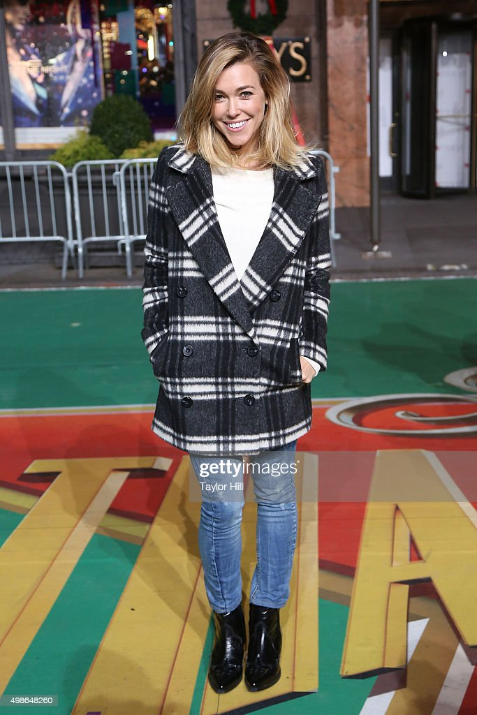 Rachel Platten attends Macy's Thanksgiving Day Parade rehearsals at Herald Square on November 24, 2015 in New York City.
