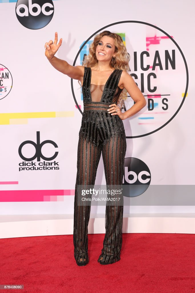 Rachel Platten attends the 2017 American Music Awards at Microsoft Theater on November 19, 2017 in Los Angeles, California.