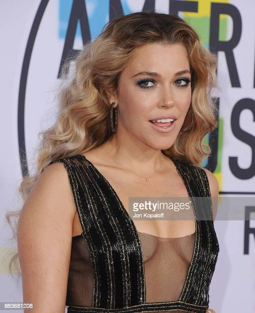 Rachel Platten attends the 2017 American Music Awards at Microsoft Theater on November 19 2017 in Los Angeles California