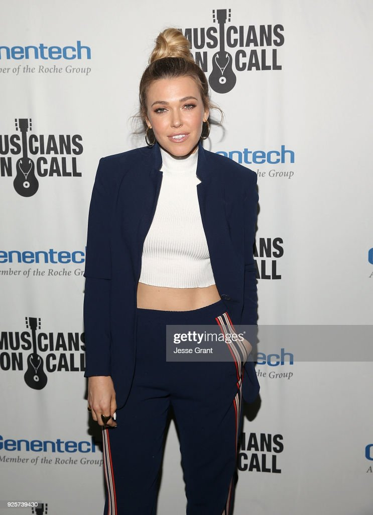 Rachel Platten attends the Musicians On Call 5th Anniversary Celebration in Los Angeles Delivering The Healing Power of Music on February 28, 2018 in Los Angeles, California.