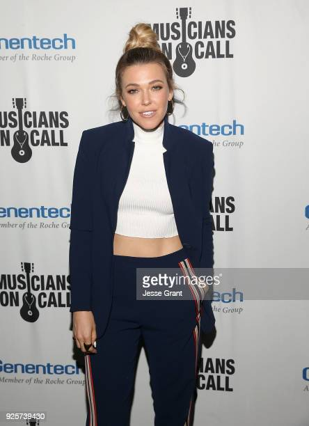Rachel Platten attends the Musicians On Call 5th Anniversary Celebration in Los Angeles Delivering The Healing Power of Music on February 28 2018 in...