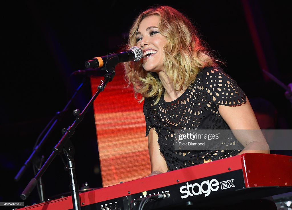 Rachel Platten performs at the United Talent Agency Party on