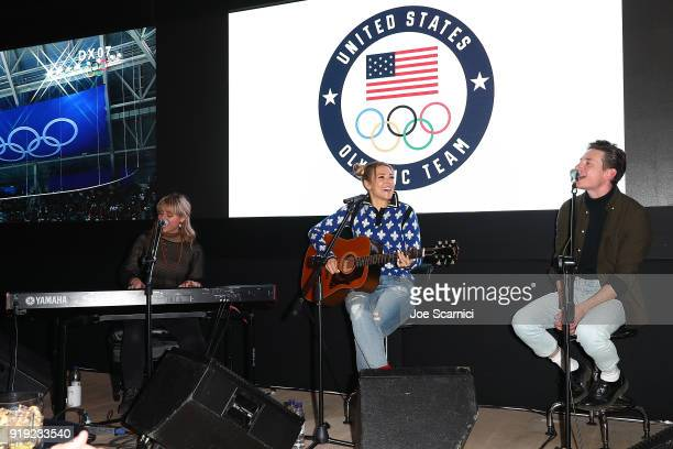 Rachel Platten performs at the USA House at the PyeongChang 2018 Winter Olympic Games on February 17 2018 in Pyeongchanggun South Korea