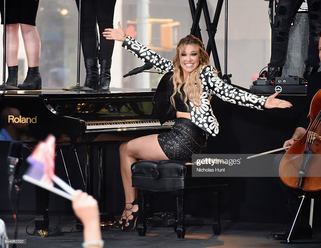 """Rachel Platten Performs On NBC's """"Today"""""""
