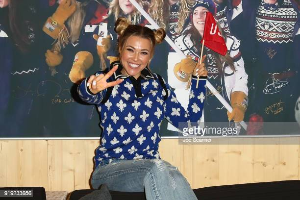 Rachel Platten poses for a photo at the USA House at the PyeongChang 2018 Winter Olympic Games on February 17 2018 in Pyeongchanggun South Korea