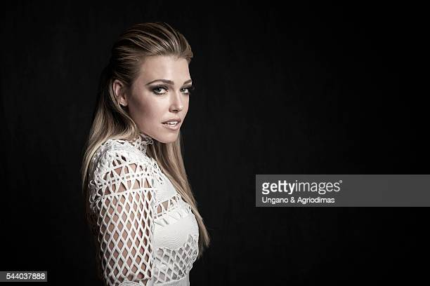 Rachel Platten poses for a portrait at Logo's Trailblazer Honors on June 23 in the Cathedral of St John the Divine in New York City